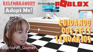 ROBLOX-CARING FOR LEGENDARY PETS | Gameplay