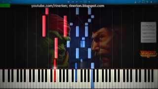 Warcraft II - Tides of Darkness - Human 2 [Piano]