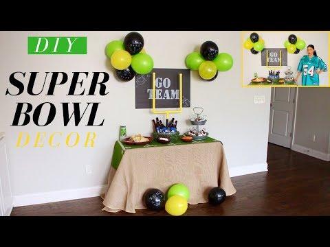 DIY Super Bowl Party Decoration Ideas | DIY Football Goal Post Cooler | DIY Party Decor