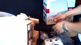 Import White Slim Sony PS3 Unboxing.mp4