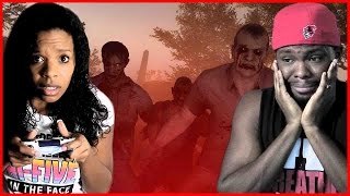 TRYING TO SURVIVE A ZOMBIE APOCALYPSE WITH MY WIFE!