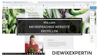 mehrsprachige Webseite mit wix.com erstellen | wix multilingual | tutorial deutsch