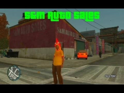GTA IV Inside Building Glitch - S&M Auto Sales [HD]