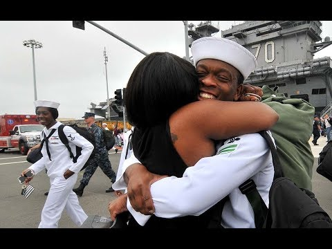 USS Carl Vinson Homecoming June 2017