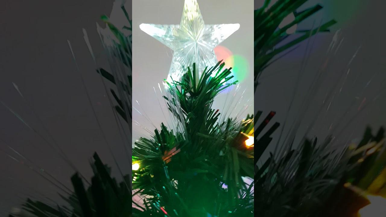2017 Green Led Fibre Optic Xmas Tree 3, 4 & 5ft Night