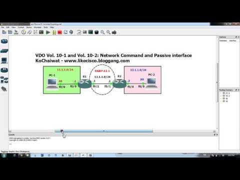 CCNA kochaiwat Vol 10-1 Command Network and Wildcard Mask