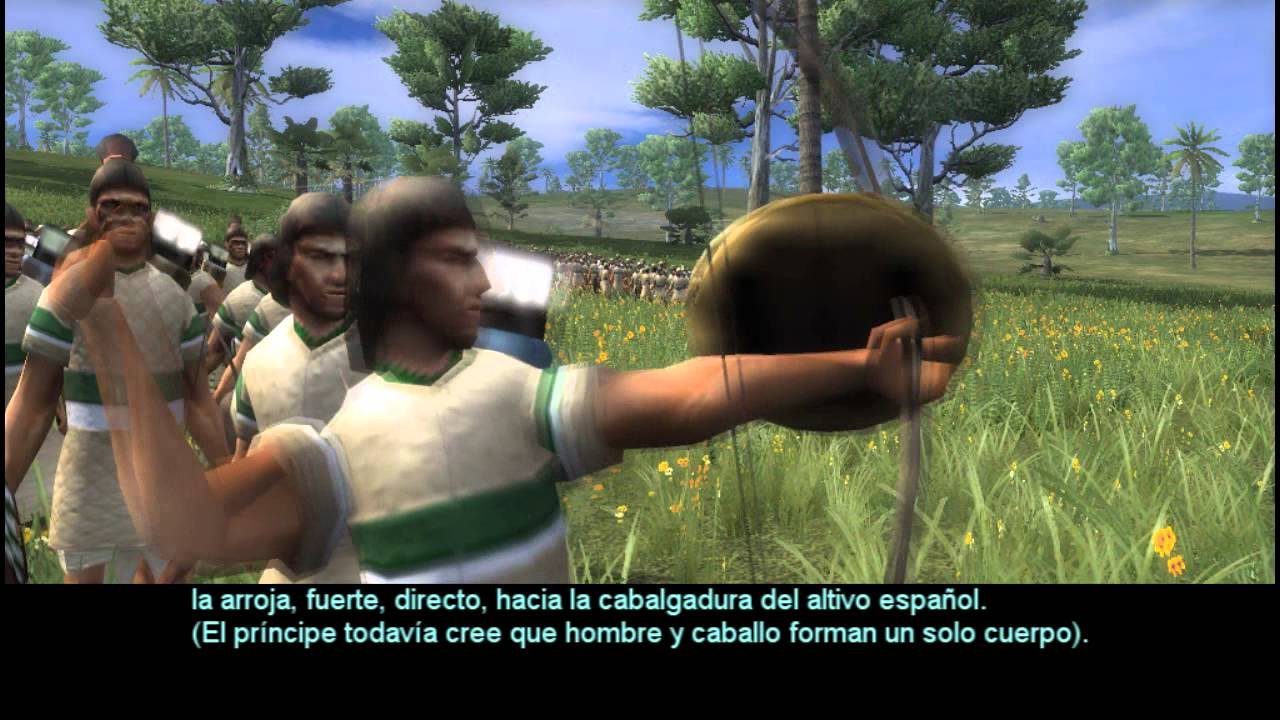 17 PEDRO DE ALVARADO ES FLECHADO - YouTube