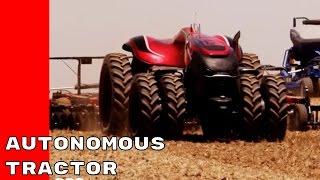 case ih autonomous concept farming tractor
