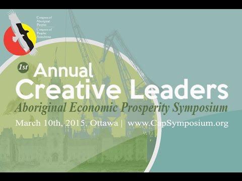 CAP Creative Leaders Symposium P. Stirbys (AECOM), N. Anani (ICTC), & H. Searle (Imperial Oil Ltd)