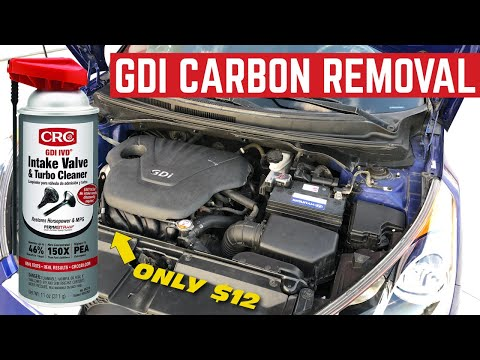 How To REMOVE CARBON Build Up From DIRECT INJECTION Engines For $12