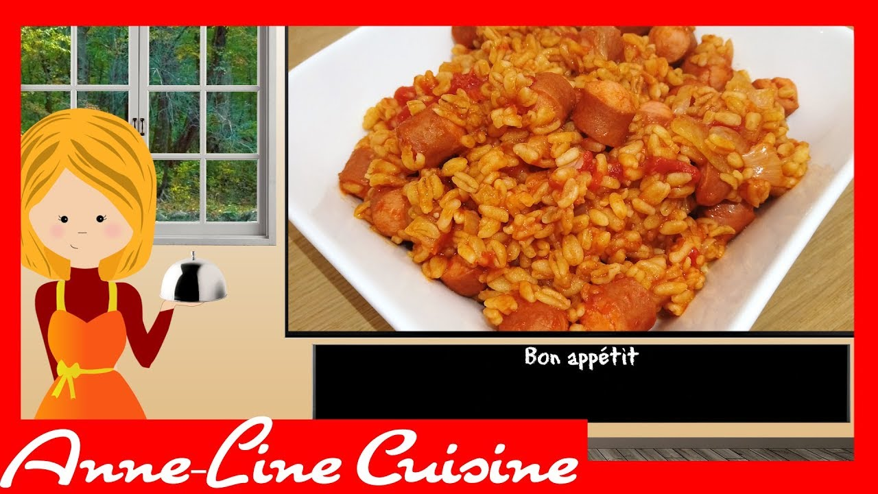 Ebly A La Sauce Tomate Et Knacki Cookeo Youtube