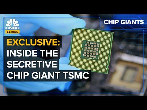 Secretive Giant TSMC's $100 Billion Plan To Fix The Chip Shortage