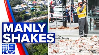 Earthquake tremors felt in parts of Sydney | 9 News Australia