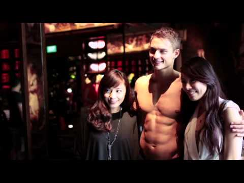 Abercrombie & Fitch Singapore Store - Opening Day Video (The Main Event)