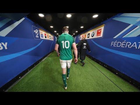 Irish Rugby TV: France v Ireland - Tunnel Cam At Stade De France