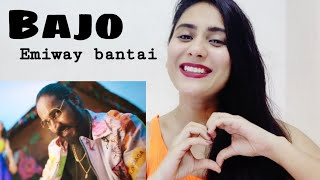 EMIWAY - BAJO ( OFFICIAL MUSIC VIDEO) | Reaction | by Illumi Girl