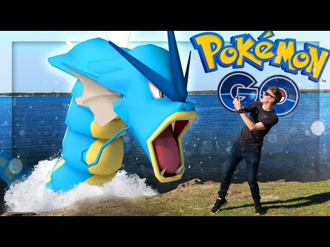 POKEMON GO AT THE BEACH!