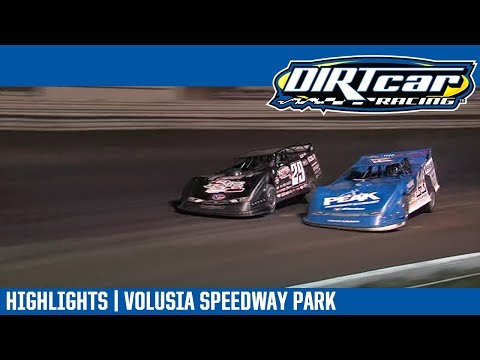 DIRTcar Late Models Volusia Speedway Park February 11th, 2019 | HIGHLIGHTS