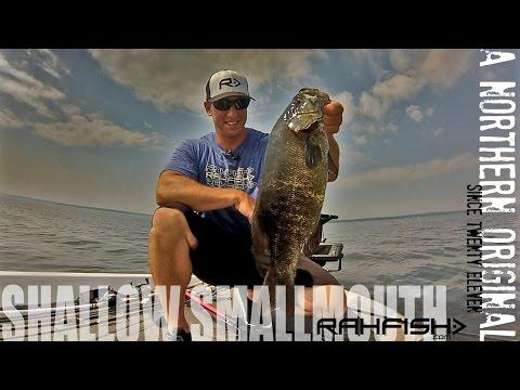 Smallmouth Bass Fishing - Drop Shot