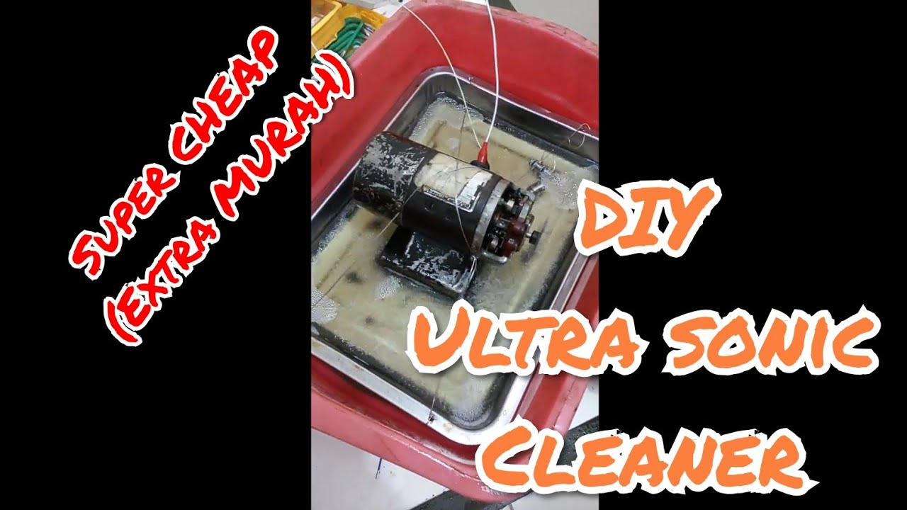 Diy Ultrasonic Cleaner Youtube
