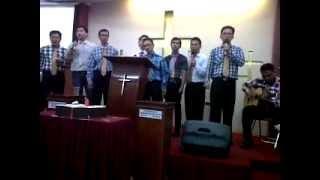 Kudengar Suara Perang By:Kaum Bapak GBI Keluarga Kristus Poris Paradise, 13 April 2014