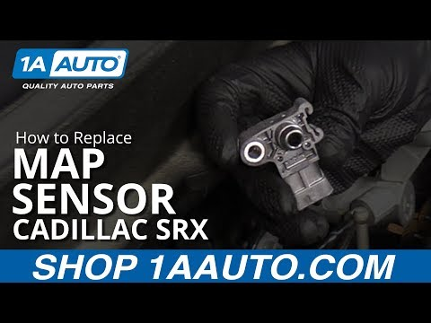 How to Replace Manifold Air Pressure Sensor 10-16 Cadillac SRX