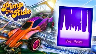 PIMP MY ROCKET LEAGUE RIDE - WET PAINT (Mystery Decal)