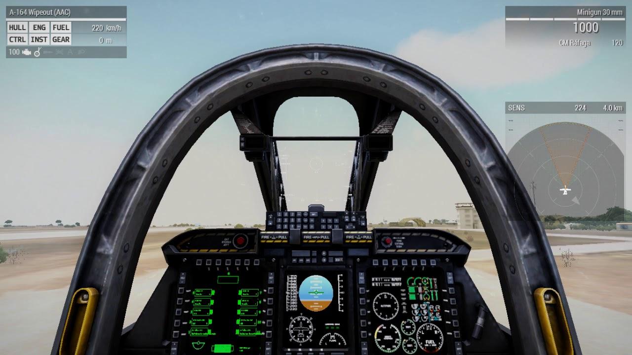 Como se aterriza un avión