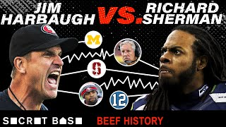 Richard Sherman's career-altering beef with Jim Harbaugh will never end