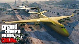 Где взять БОИНГ? Полет на БОИНГЕ!!! GTA V ONLINE #167 | [PLAYSTATION 4]
