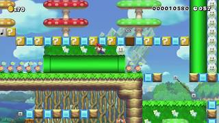 A Nice Speedrun! (90 Sec) :D by ★Dude64★♂ - Super Mario Maker - No Commentary