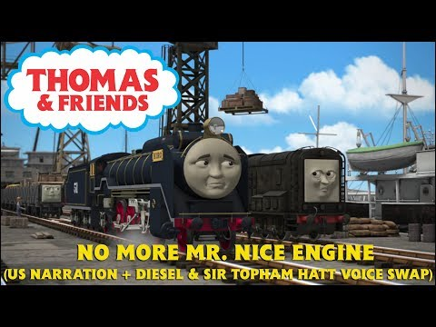 No More Mr. Nice Engine (US, with Kerry Shale as Diesel & Keith Wickham as Sir Topham Hatt)