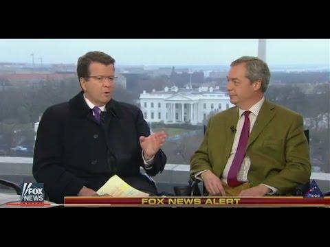 Nigel Farage on Trump's Inauguration Speech.