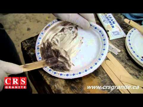 Granite Countertops by CRS Granite - How to Repair a Chip