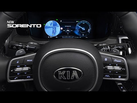 2021 Kia Sorento INTERIOR – High Quality And High-tech Cabin