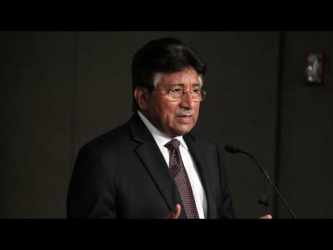 Former Pakistan president declared a fugitive