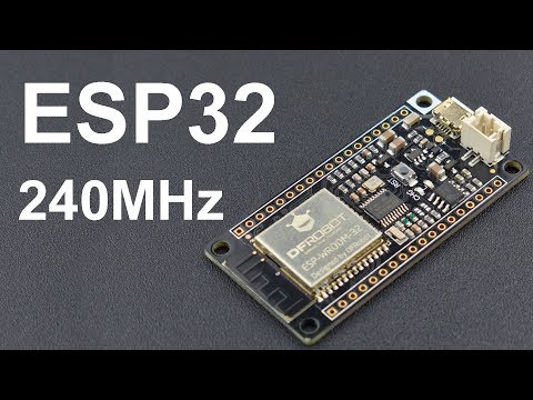 ESP32, более мощная чем любая другая Ардуино