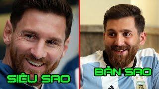 Các bản sao giống các ngôi sao bóng đá đến khó tin.Cristiano ronaldo và bản sao giống nhau như đúc