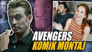 AVENGERS ENDGAME KOMİK FRAGMAN MONTAJI: Thanos Meme Reaction