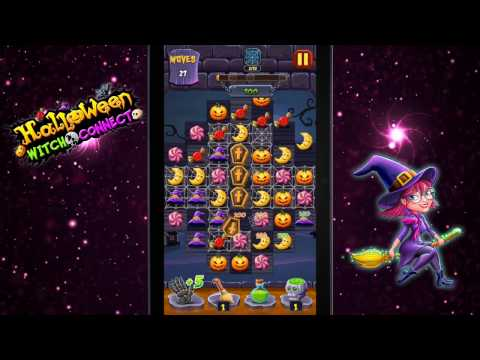 halloween witch connect match 3 puzzle game applications sur google play