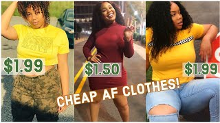 CLOTHES FOR $1 | Aliexpress Try-On Clothing Haul | (Thick / Curvy Girl) | just jailyn
