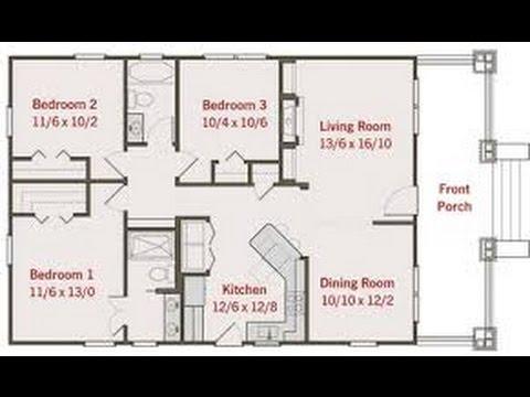 Planos de casas de un piso youtube for Planos de casas youtube