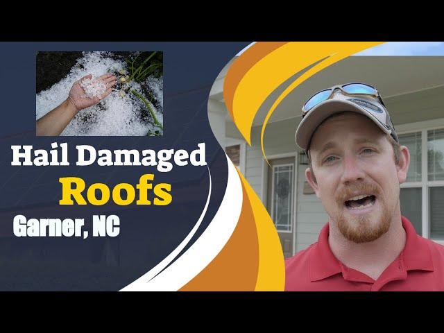 Hail damage - Garner, NC | Ready Roofing