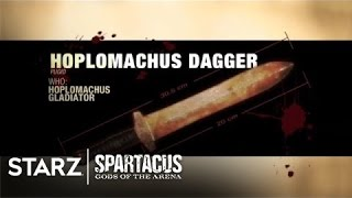 Spartacus | Gods of the Arena - Weapons (from DVD) | STARZ