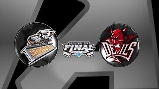EIHL Challenge Cup Final 2015 - Sheffield Steelers v Cardiff Devils