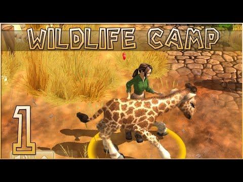 Into the Wildlife Rescue & Sick Baby Giraffe?! • Wildlife Camp  Episode 1