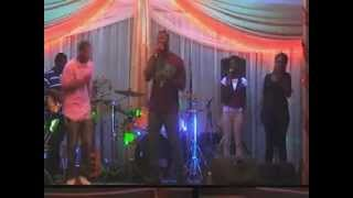 M1 gospel band @ Gvibes @The Trilogy St Kitts