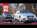 Audi A4 2.0 TFSI vs. BMW 320i - AutoWeek Dubbeltest