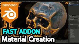 Blender Addon For Creating Mat…