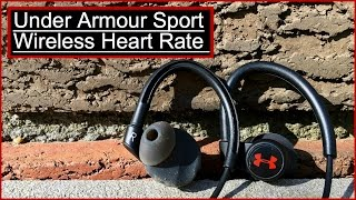 UA Sport Wireless Heart Rate Monitoring Earphones